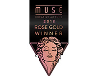 MUSE CREATIVE AWARDS 2018 - ROSE GOLD