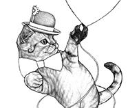 Curious Cat Sketches