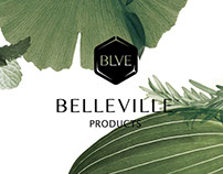 贝尔维尔植物药妆 品牌形象及产品包装