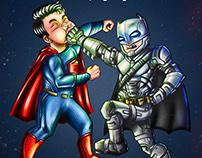 Batkid v.s. Superkid