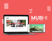 MUBI - UI &UX Redesign