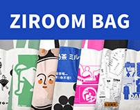 ZIROOM DESIGN CENTER BAG 自如帆布包图案设计