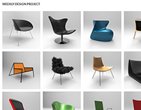 Weekly Design Project - 52 Chairs later