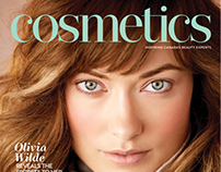 New In Store Makeup for Cosmetics Magazine Jan/Feb 2014
