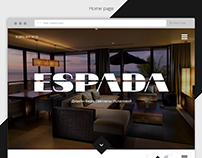 Website «Espada»: Interior Design