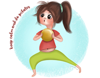 Keep calm and do pilates!