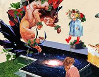 Collage Artwork 149-151