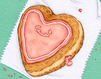 Jelly Donut Valentine