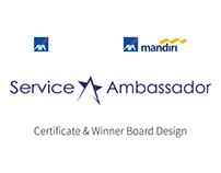AXA Mandiri & AXA Service Ambassador Design