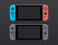 Free Nintendo Switch Mockup Sketch Resource