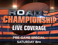 Road to the Championship Broadcast graphics.