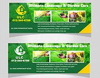 Garden Landscape Facebook Cover Bundle Templates