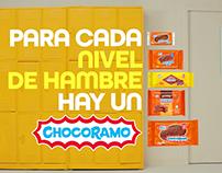 Niveles de hambre Chocoramo
