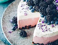 Gluten- and sugarfree cheesecake