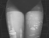 """Panty hose """"Paul Klee"""""""