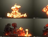 FumeFX Explosion Tool