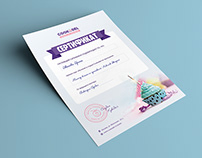 Master Class Certificate Design