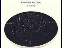Cross Stitch Star Chart