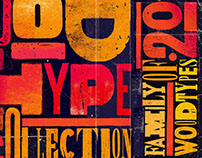 Wood Type Collection – 20 Grunge Fonts