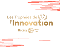 LES TROPHEES DE L'INNOVATION - Branding & Webdesign