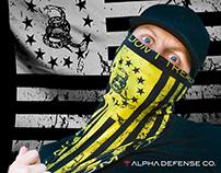 Alpha Defense Co. Graphics
