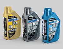 MOGUL OIL packaging