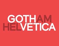 Gothvetica (Free Font)