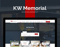 KW Memorial — Real Estate Broker Website Design UX/UI