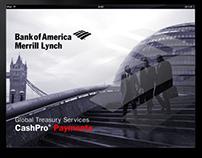 BAML CashPro iPad Presentation