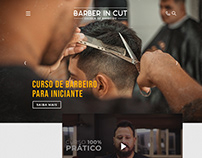 Layout Site - Escola de Barbeiro