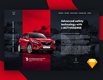 Mazda CX-5 Website concept