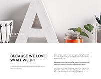 Verona - WordPress Portfolio Template