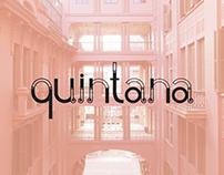 Quintana - Experimental Typography