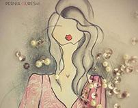 Autumn/Festive '14  - Fashion Illustration