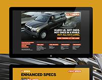 Toyota / Tundra / Experience Website 2007