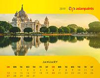 Asian Paints - 2019 Calendar