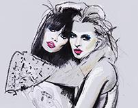 Annabelle & Kate - Harper's Bazaar UK '11