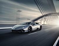 Lamborghini Performante - Adobe Dimension - Making of