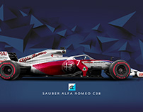 F1 2019 Season Concept Liveries