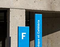 Signage System – Cégep de Saint-Laurent