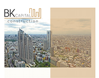 Logo Redesign ''BK CAPITAL CONSTRUCTION''