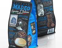 Madeo coffee package design