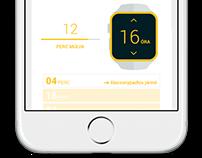 SZKT, Vehicle forecasting UI, 2016