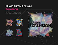 Centum EXPANSION Flexible branding Design