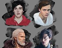 Portraits Study