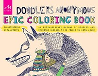 Doodlers Anonymous - Epic Coloring book