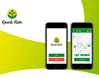 Quick Ride App UI Revamp