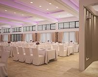 Wedding Hall - ceiling