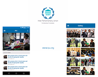 IPU (Inter-Parliamentary Union) App Design