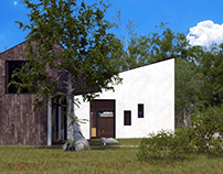 Geometric Residence 3D Visualizations